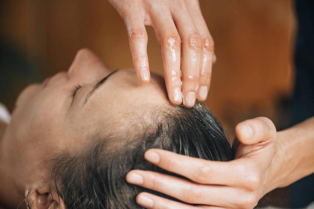 Ayurvedic Oil Treatment for Healthy Hair
