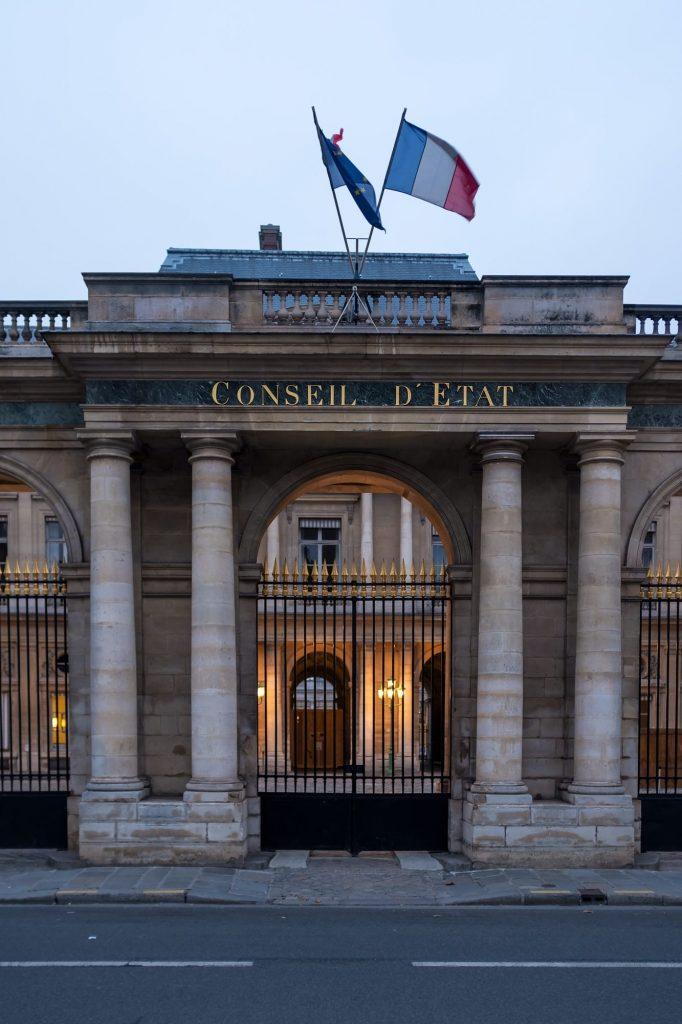 Conseil D'etat in Paris France